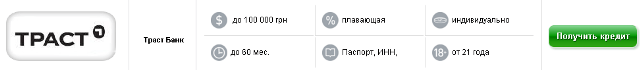 получить онлайн кредит на банковскую карту украина