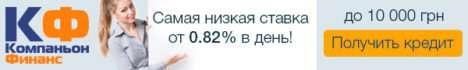 Компаньон Финанс - кредиты с множеством позитивных отзывов!