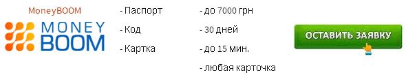 Кредит на карту онлайн, срочно не выходя из дома без отказа. Украина
