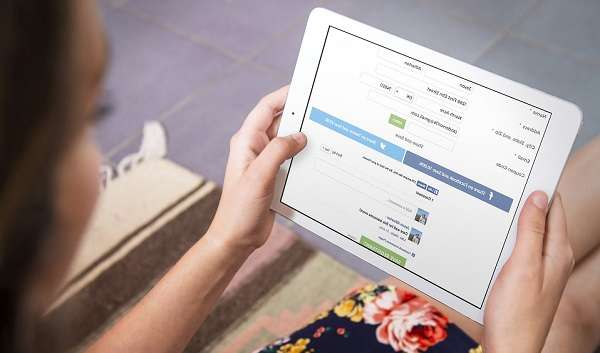 Онлайн заявку могут подать пользователи планшетов или смартфонов