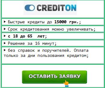 CreditOn: срочный микрокредит онлайн на карту, без отказа